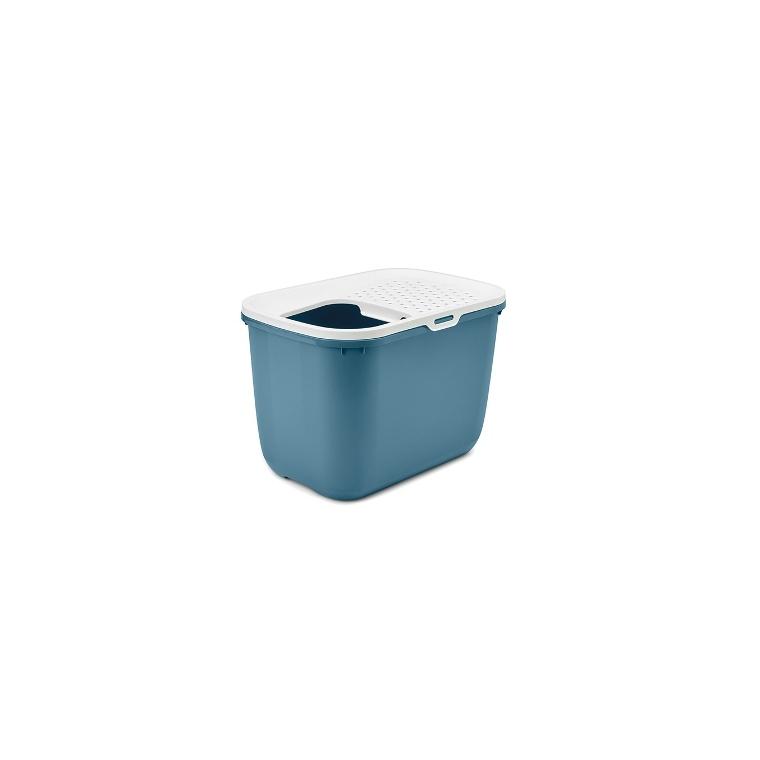 Maison de toilette pour chat Hop In bleue 415399