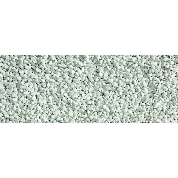 Graviers de marbre de Carrare blanc calibre 8 à 12 mm en sac de 10 kg 415873