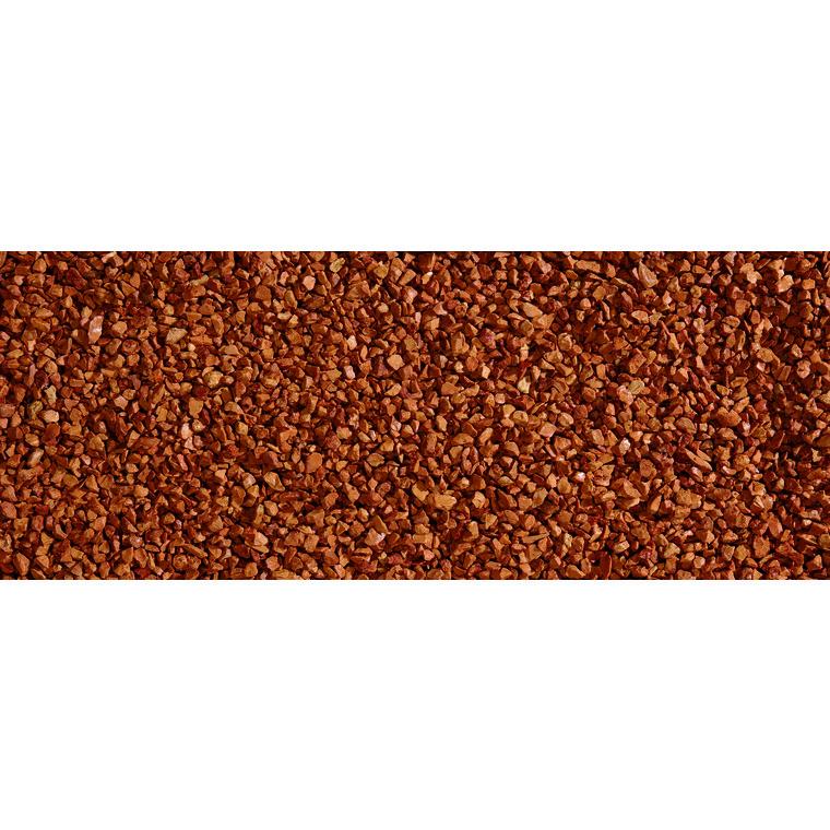 Graviers de marbre rouge de Vérone calibre 8 à 12 mm en sac de 20 kg 415878