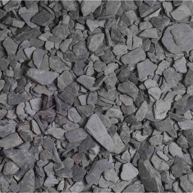 Ardoise noire pour jardin de calibre 10 à 20 mm en sac de 10 L 416023