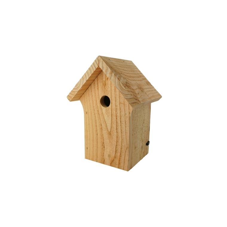 Nichoir la cabane pour mésanges bleues en bois 19 x 16 x 26 cm 416062