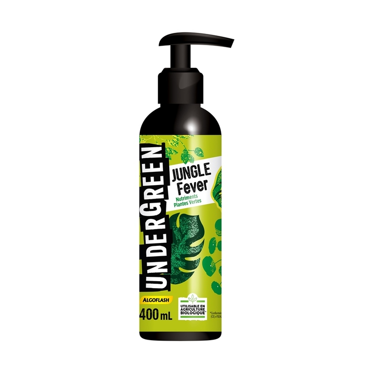 Engrais jungle fever pour plantes vertes en spray de 400 ml 416320