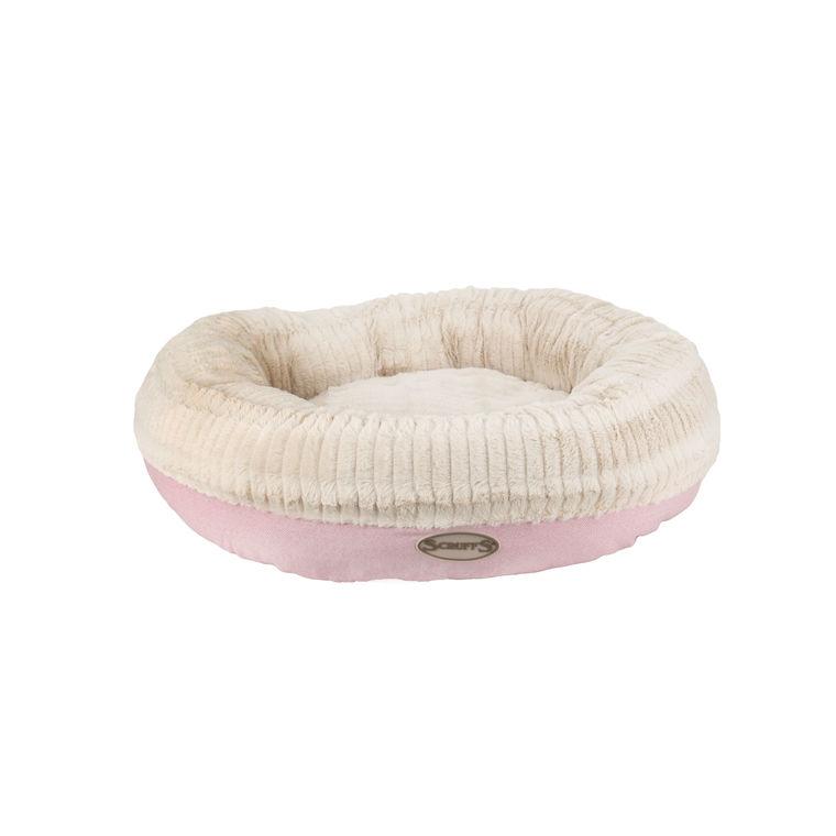 Corbeille ronde Scruffs Ellen rose - taille XL 416423