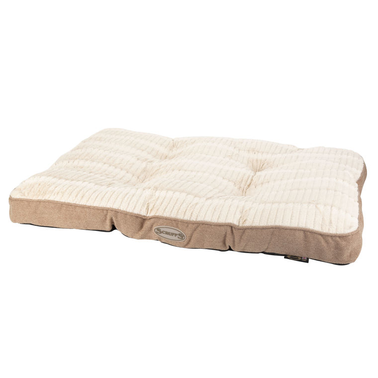 Coussin rectangulaire Scruffs Ellen taille L beige 416482