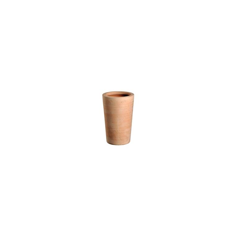 Pot Cuvier haut droit terre claire H 61 x Ø 38 cm 41695