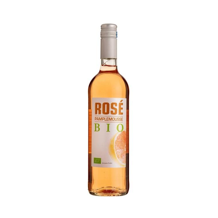 Vin rosé pamplemousse bio. La bouteille de 75 cl 417076