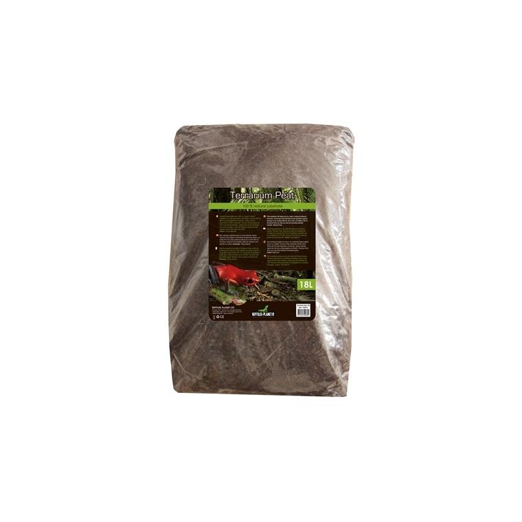 Substrat de sol terrarium peat 18 L 417519