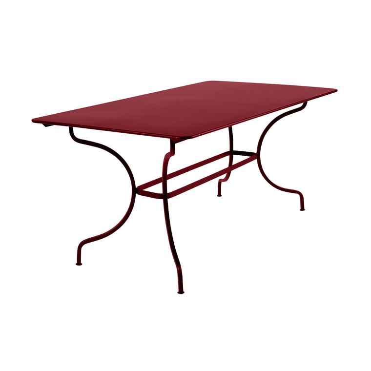 Table de jardin Manosque FERMOB piment L160xl90xh74 417621