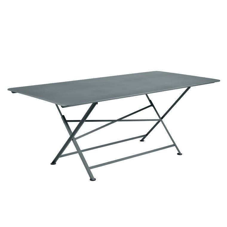 Table de jardin Cargo FERMOB Gris orage L190xl90xh74 417682