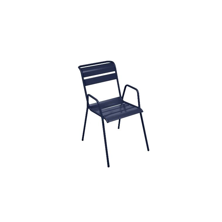 Fauteuil Monceau coloris bleu abysse Fermob 417880