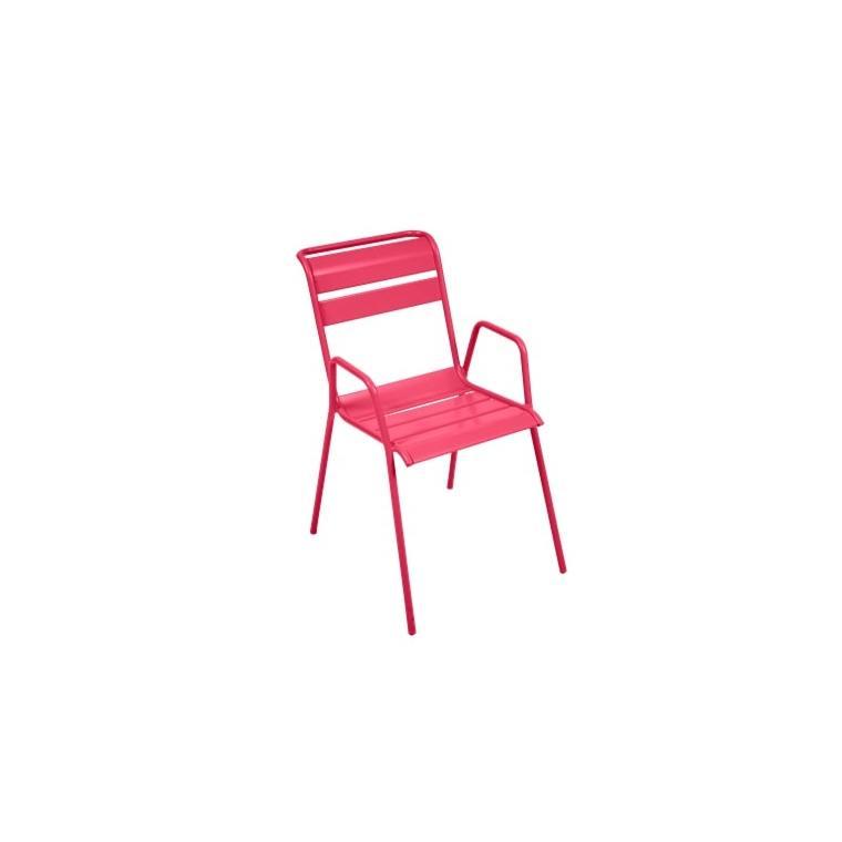 Fauteuil Monceau coloris rose praline Fermob 417881