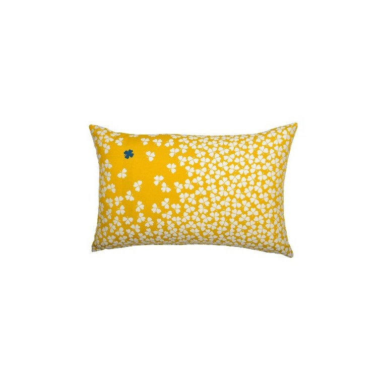 Coussin trèfle Fermob coloris miel en acrylique 44 x 68 cm 417952