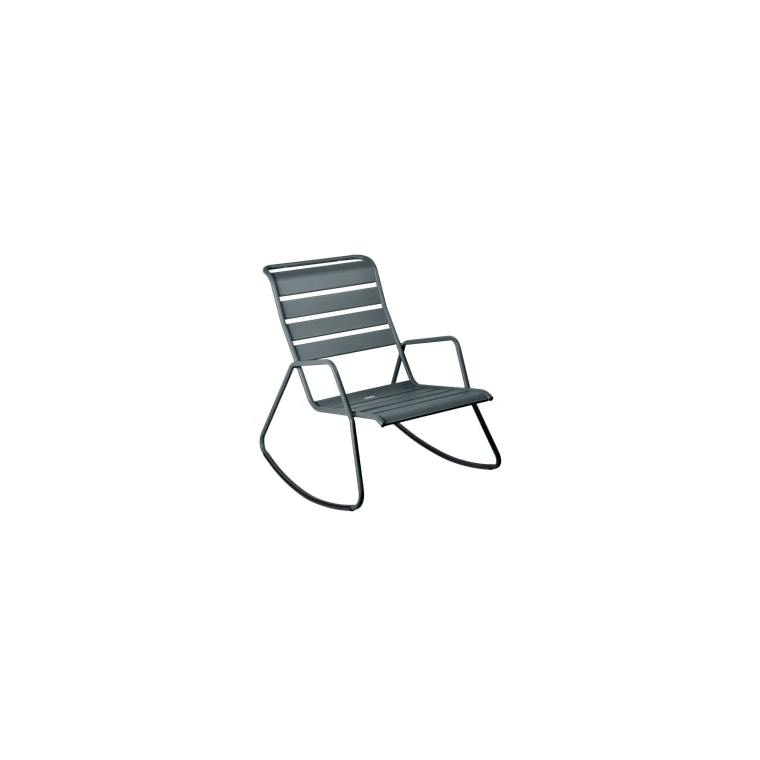 Rocking chair Monceau gris orage 417957