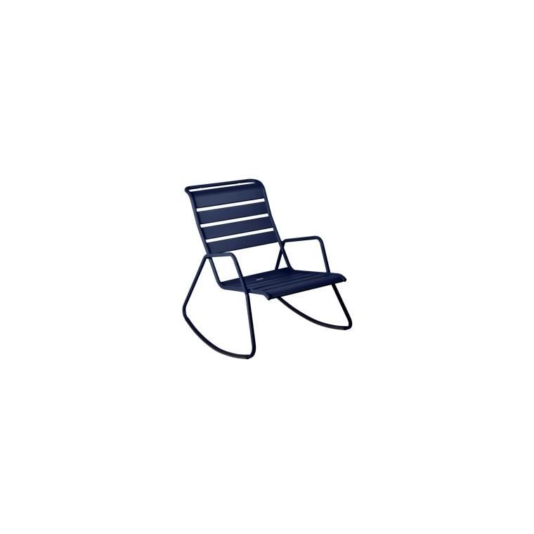 Rocking chair Monceau bleu abysse 417965