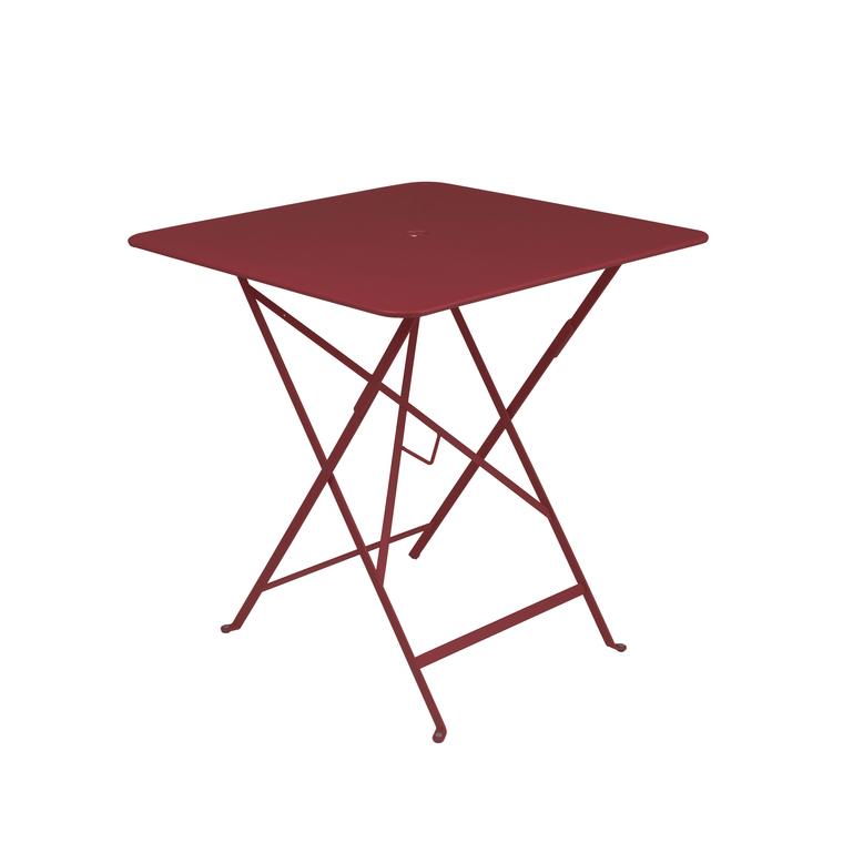 Table pliante Bistro Piment 71X71X74 cm 417971