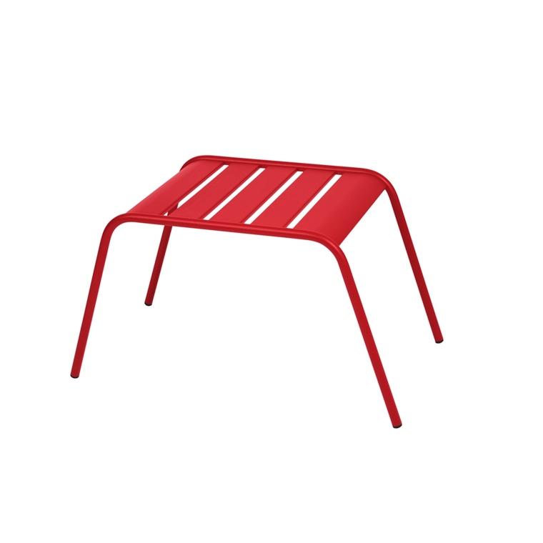 Table basse de jardin Monceau Fermob piment 60 x 48 x 41 cm 418213