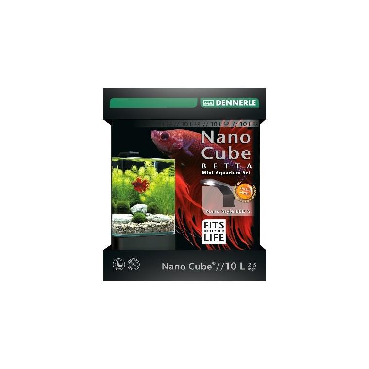 Nano Betta Cube 10 L Style Led S L21,5xP21,5xH26 cm 418241