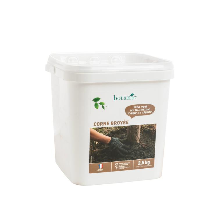 Engrais corne broyée 2.5 kg botanic® 418545
