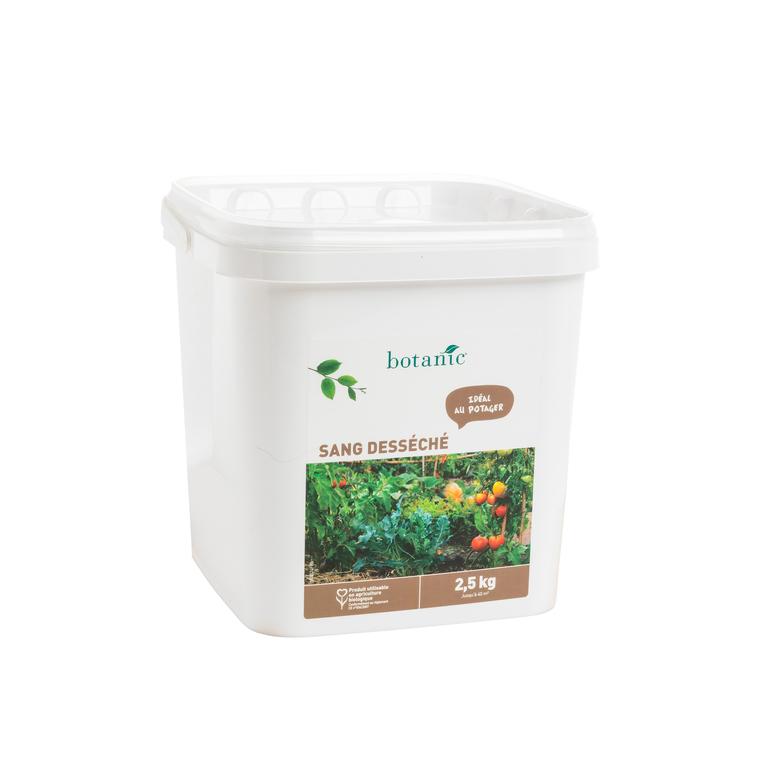 Engrais sang desséché 2.5 kg botanic® 418548