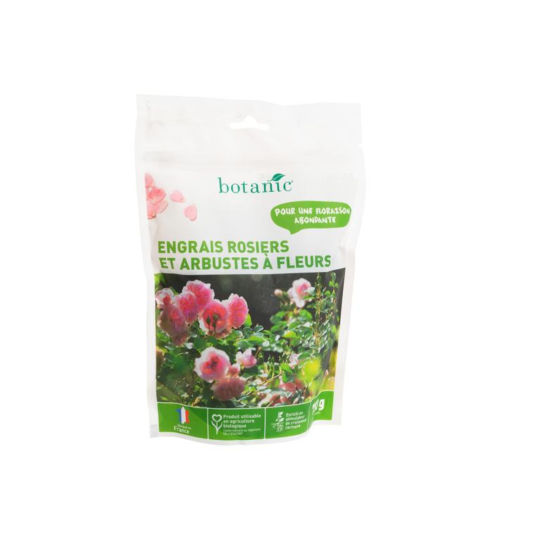 Engrais rosiers et arbustes à fleurs 750 gr botanic® 418605