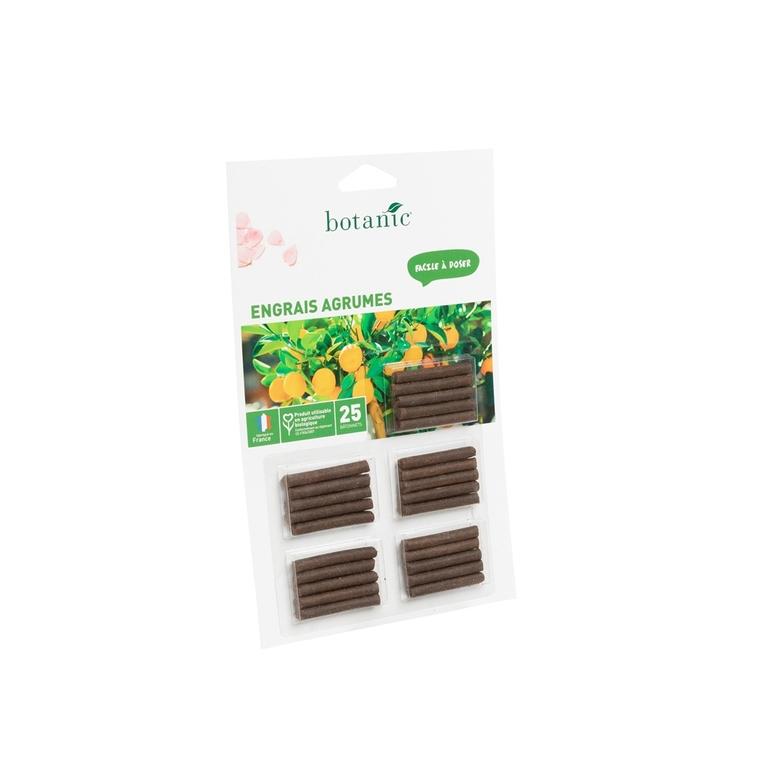 Engrais agrumes botanic® bâtonnets 418617