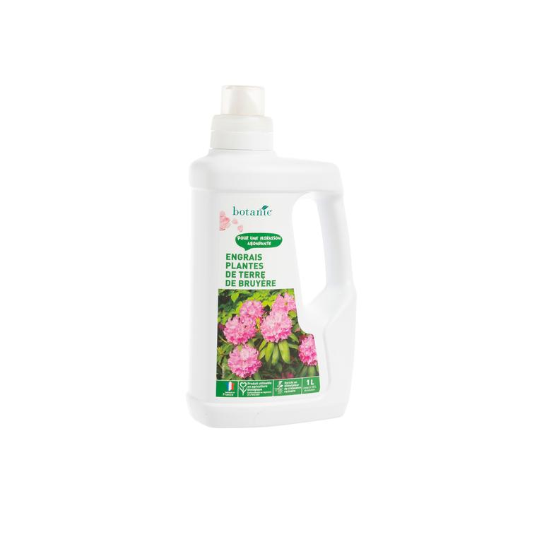 Engrais plantes de terre de Bruyère 1L botanic® 418627