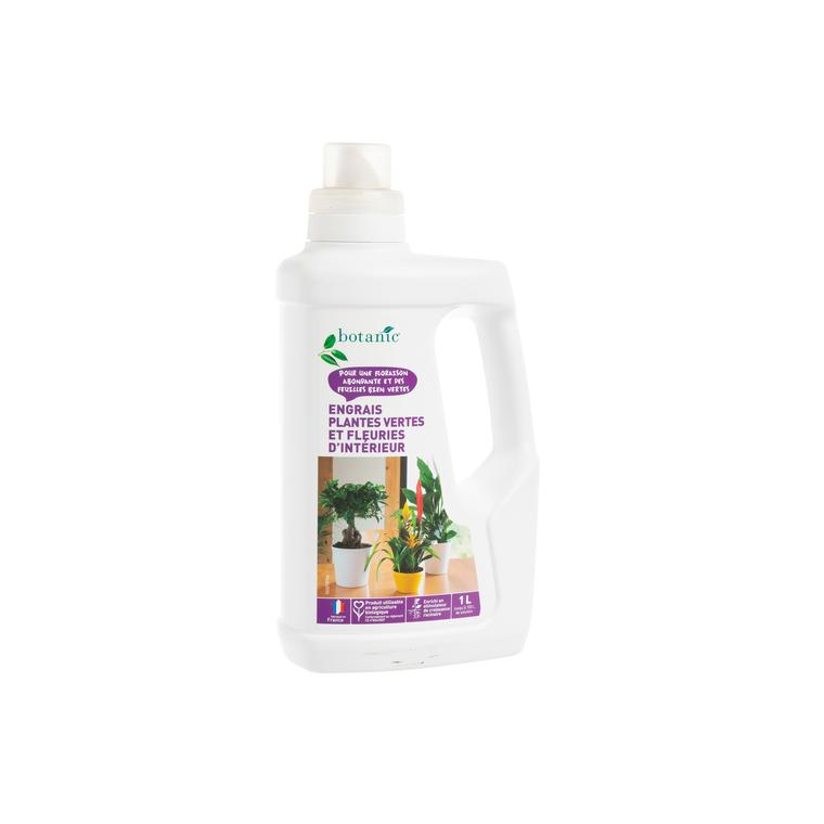 Engrais plantes vertes et fleuries d'intérieur en flacon de 1 L 418629