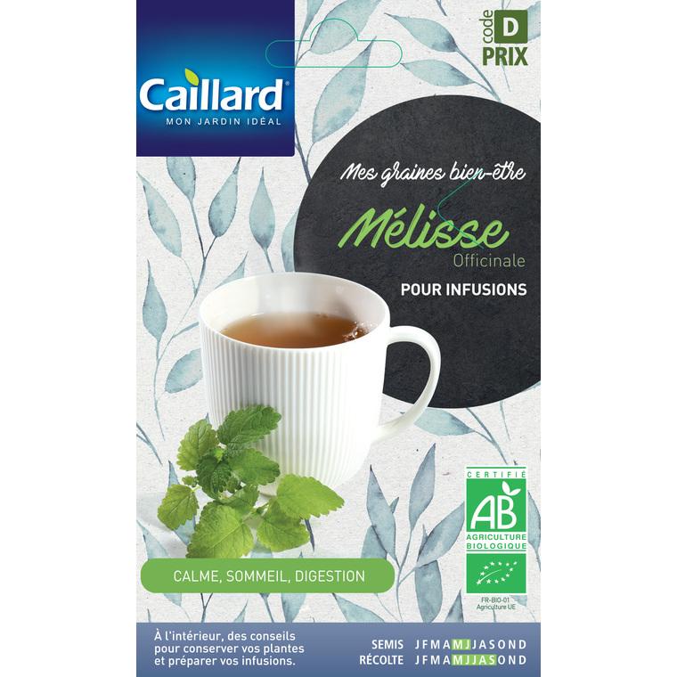 Graines de Mélisse officinale bio en sachet 419360