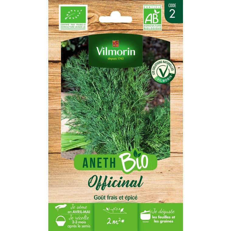Graines d'Aneth à feuilles denses bio en sachet 419384