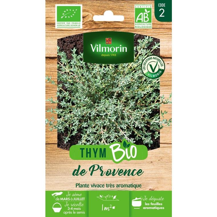 Graines de Thym de Provence bio en sachet 419387