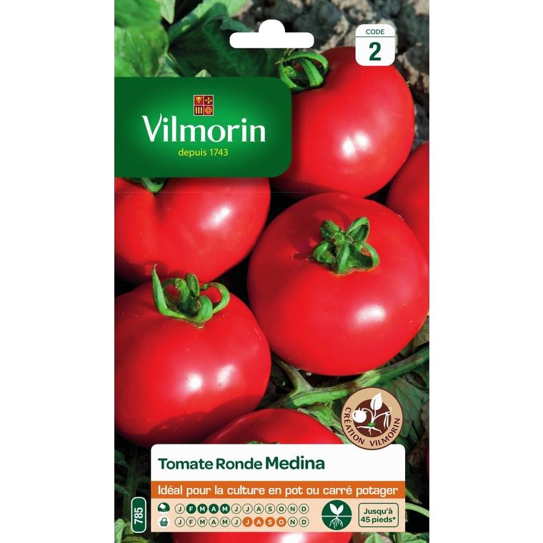 Graines de Tomate Medina HF1 en sachet 419492