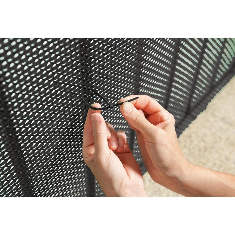 Collier de fixation Bridfix noir 14 cm par 50 419721