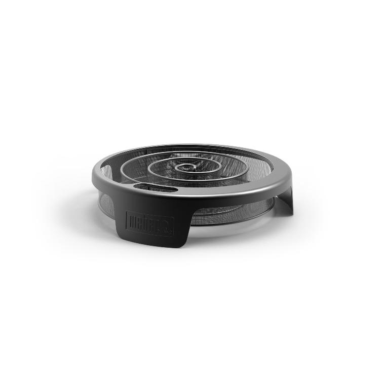 Fumoir noir pour fumage à froid 37 x 33 cm 420669