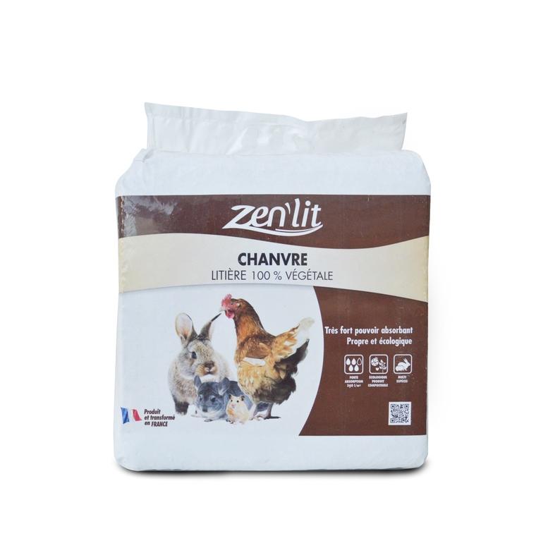 Litière de chanvre en sac de 8 kg 420722