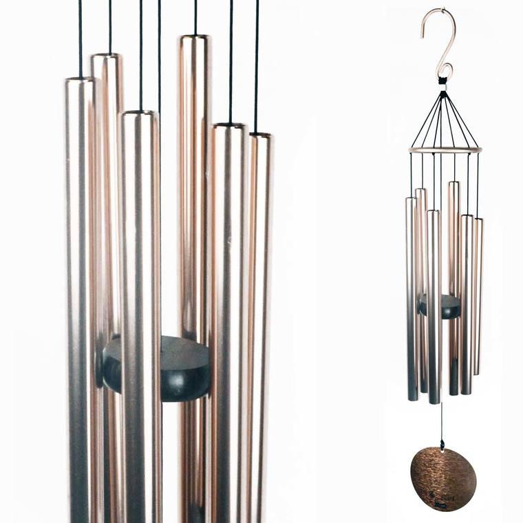 Carillon auréole en cuivre 71 cm 420917