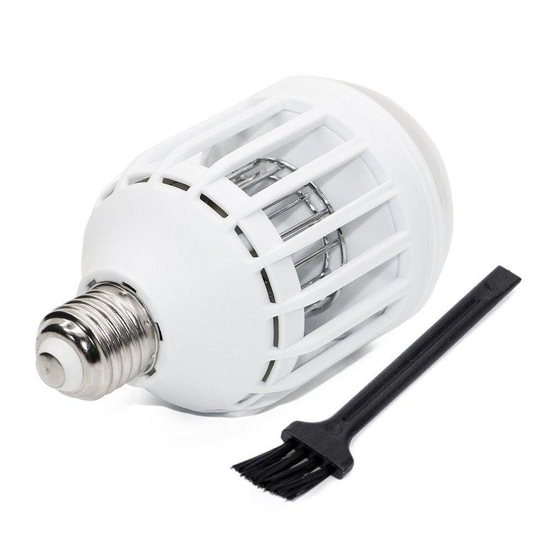 Ampoule LED E27 blanc froid avec anti-moustique 8x15,6 cm 421181