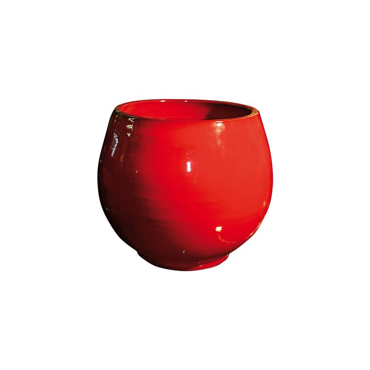 Pot Bahia coquelicot H 31 x Ø 25 cm 42253