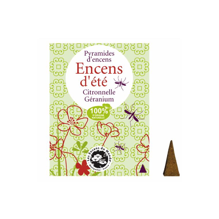 Encens pyramide anti-moustique x10 423239