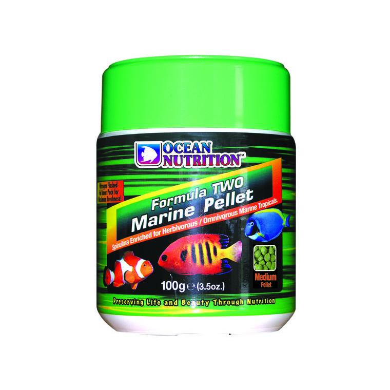 Granulés Formula Two Medium pour poissons - 100 g 423534