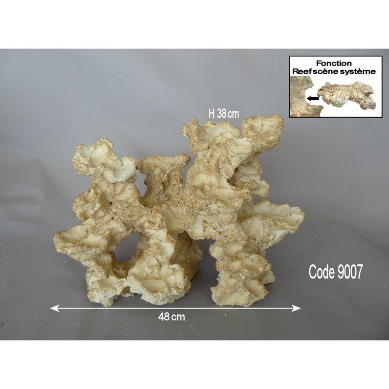 Roche Eau de mer LV neutre Colonisable Grande 45x28x 40 cm 423665