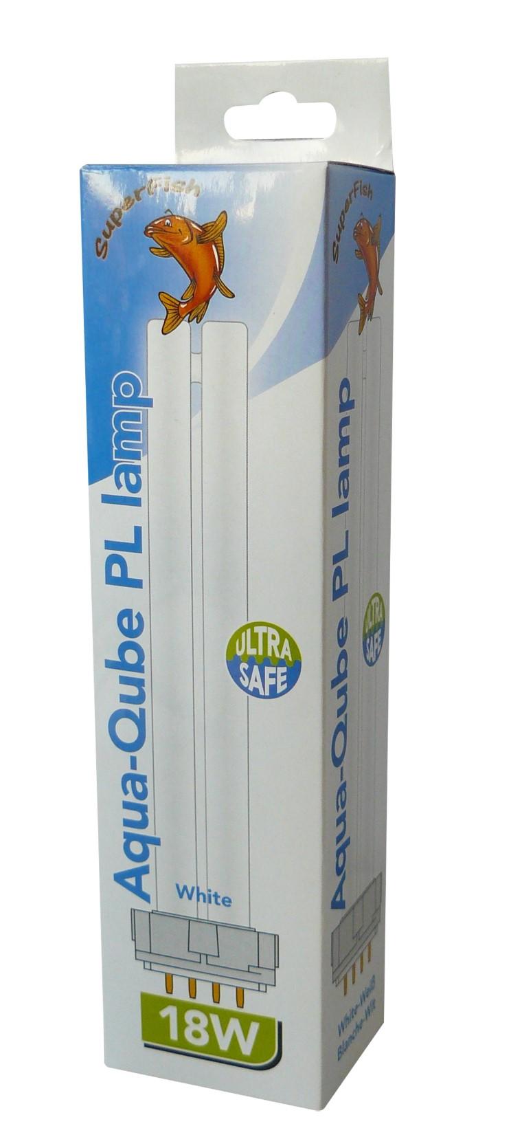 Ampoule lampe fluo compact 18 watts Aqua distri