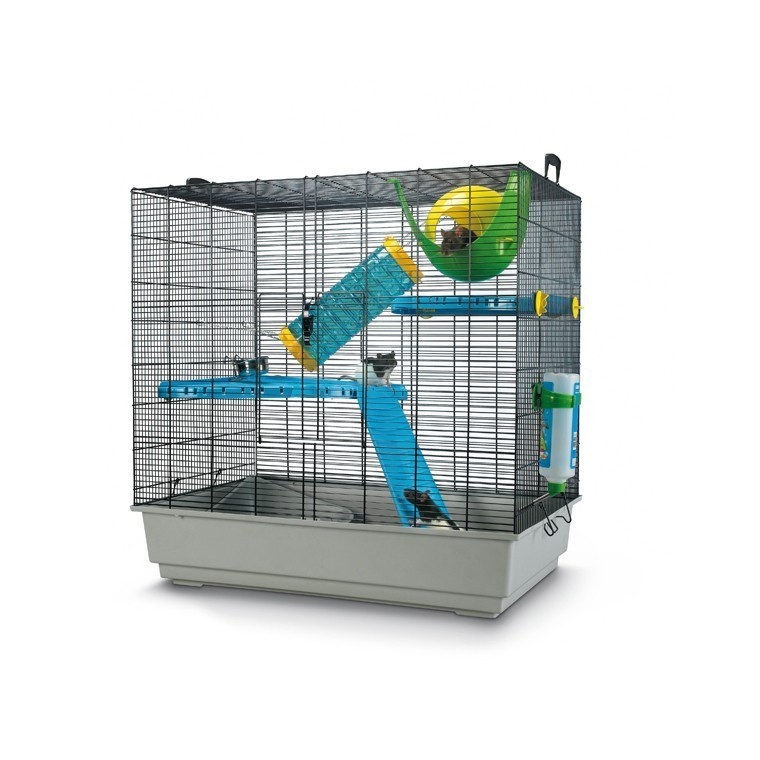 Cage Freddy 2 Max Gris 80x50x80 cm 425637
