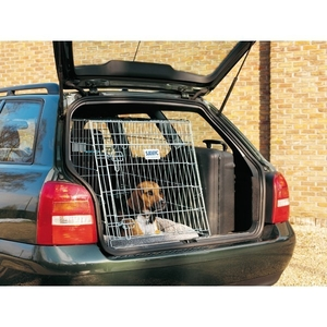 Cage transport chien Dog Residence Mobile 91cm Savic