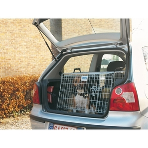 Cage transport chien Dog Residence Mobile Wide 91cm Savic