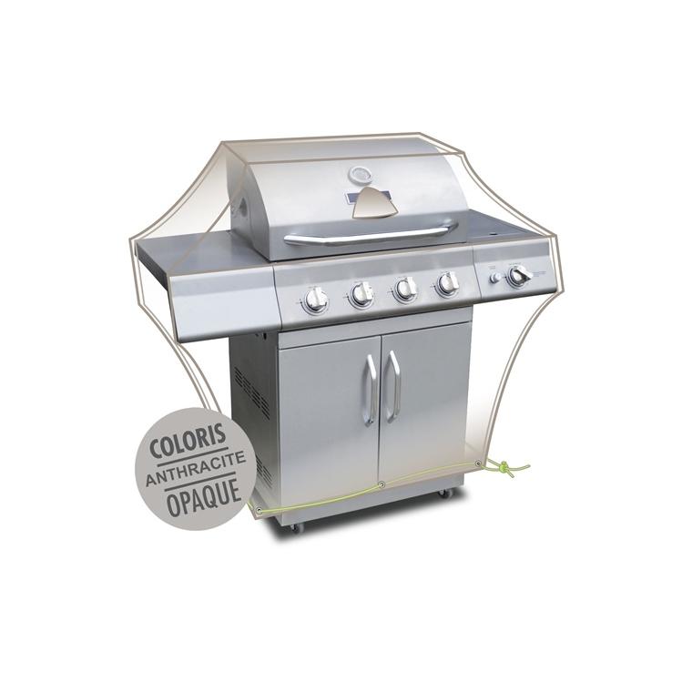 Housse barbecue de coloris anthracite 427477