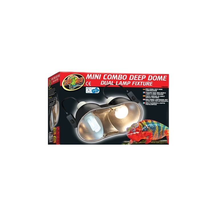 Mini combo deep dôme lamp fixture 427814