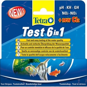 Bandelettes de test Tetra Test 6en1