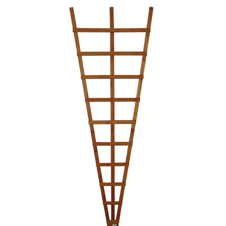 Treillis éventail mélèze huilé 60 x 180 cm 43086