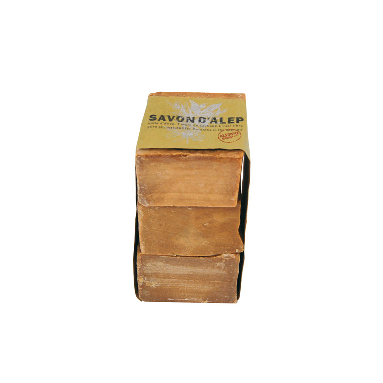 Savon Alep Olive 200 g – Lot de 3