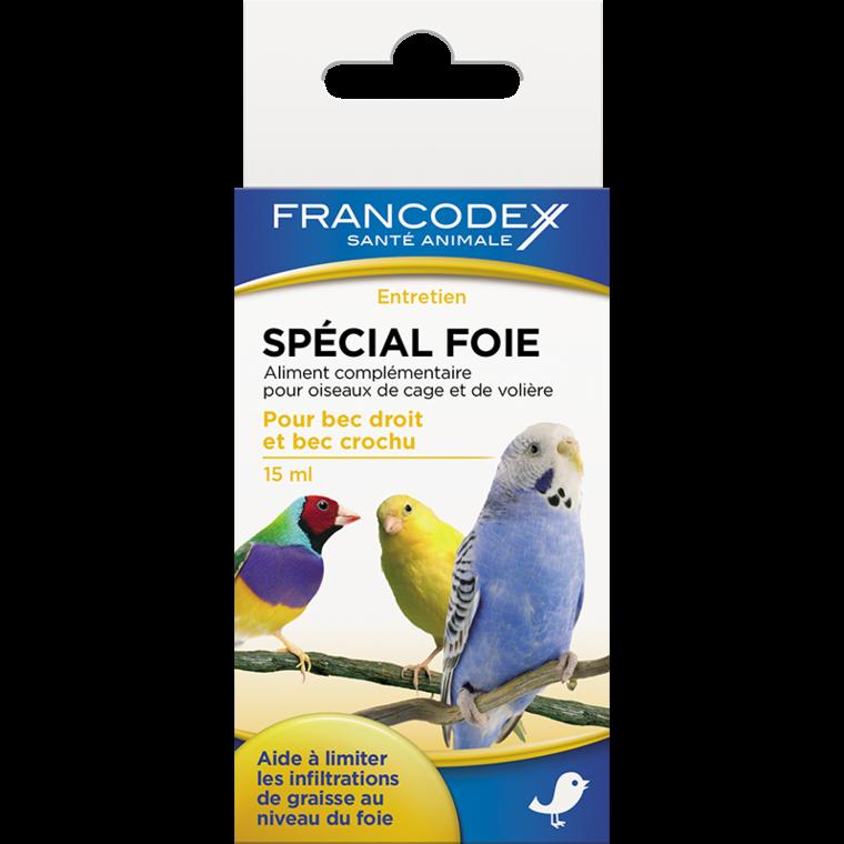 Spécial foie pour oiseaux 15 ml 433045